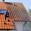 Roof cleaning with Willamette and high pressure